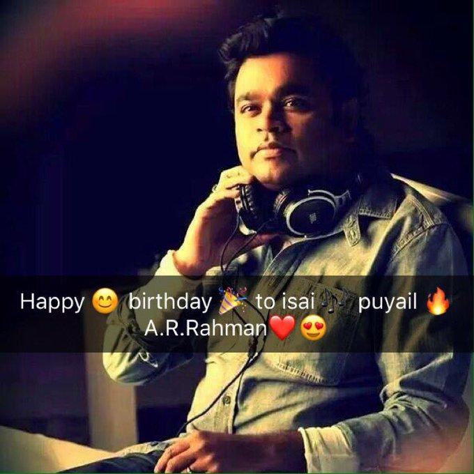 Happy Birthday to isai puyal A.R.Rahman oscar nayagan