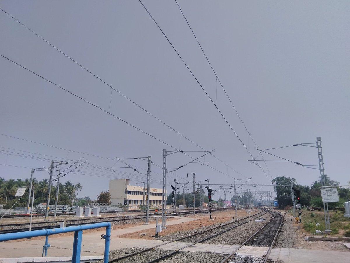 Image result for Electrified Salem-Karur