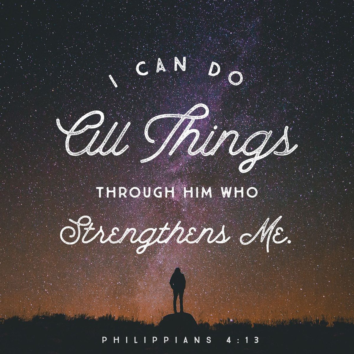 Doing All Things Through Christ - Inspire Me quote