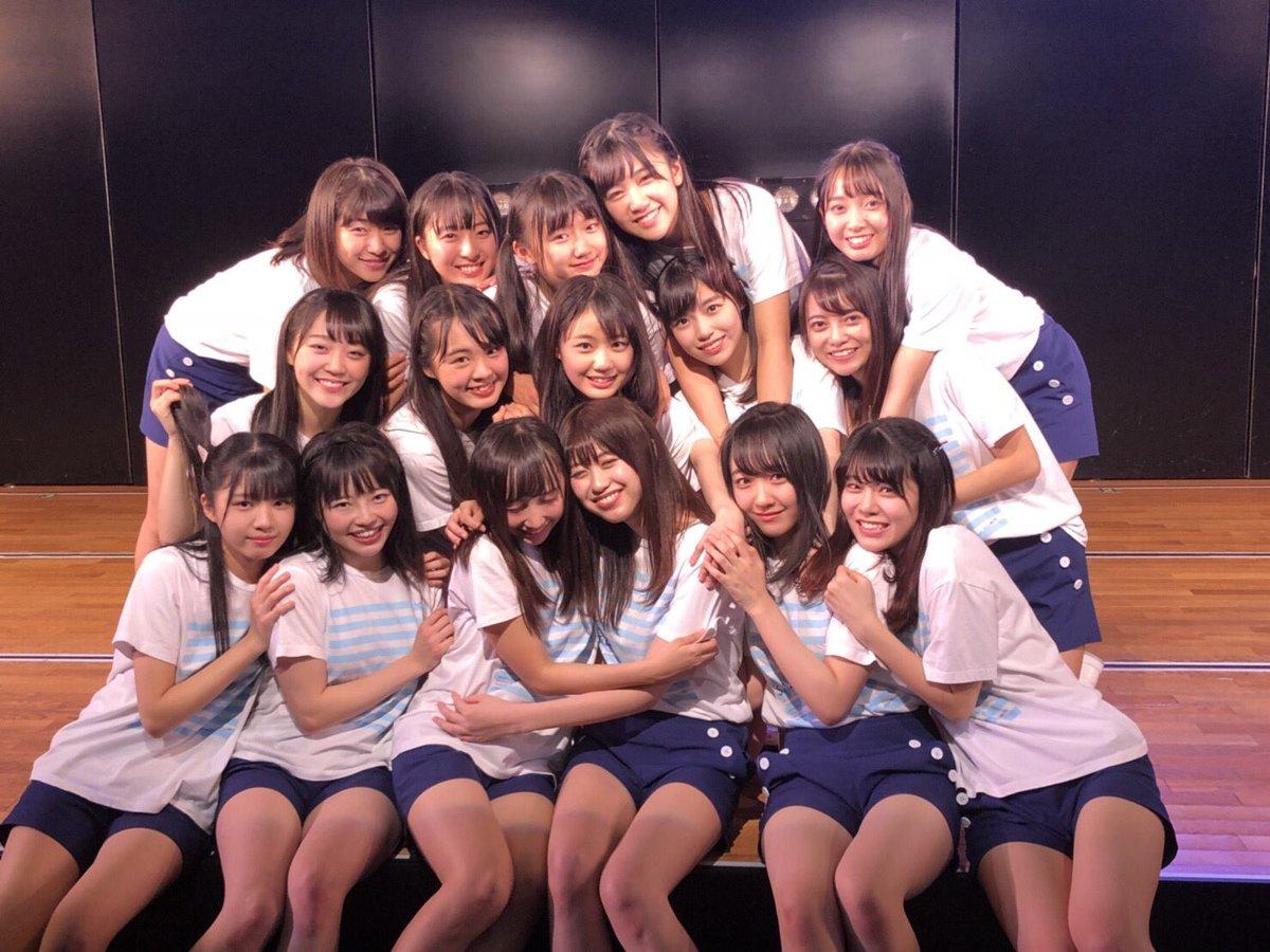 """STU48: STU48 On Twitter: """"AKB48劇場出張公演(夜公演)、ありがとうございました😊 夜公演では"""
