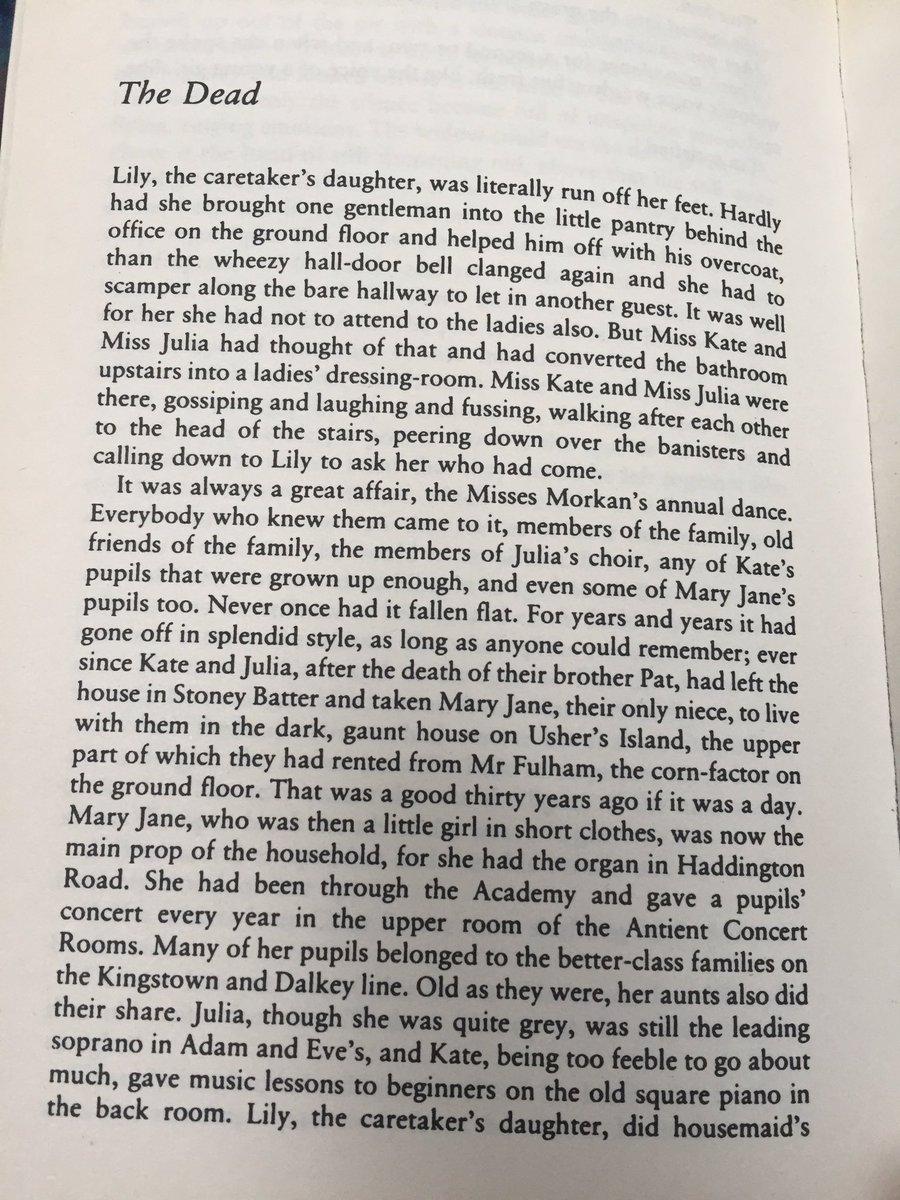 the death by james joyce