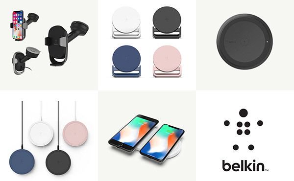 Belkin Announces New Wireless Fast Charging Pads, Stands For iPhone X, 8, 8...
