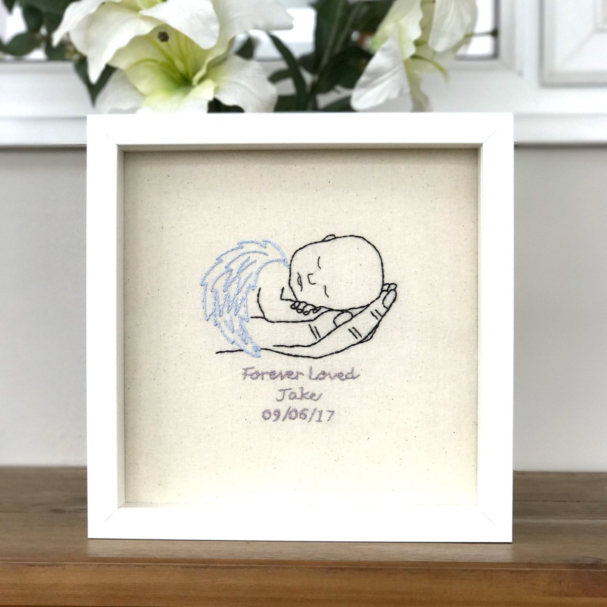 Just sew helen on twitter angel baby remembrance picture can just sew helen on twitter angel baby remembrance picture can be personalised with name date of birth httpsteojgsbhnm6 miscarriage stillbirth jeuxipadfo Choice Image