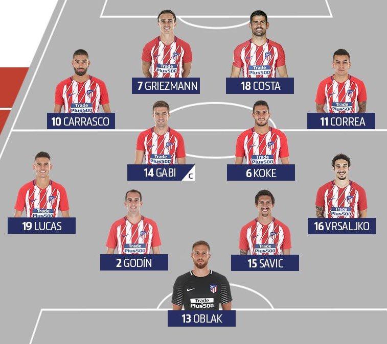 Con Costa y Vitolo...¿cuál será el once de Simeone? DS2ift_WkAARl4D