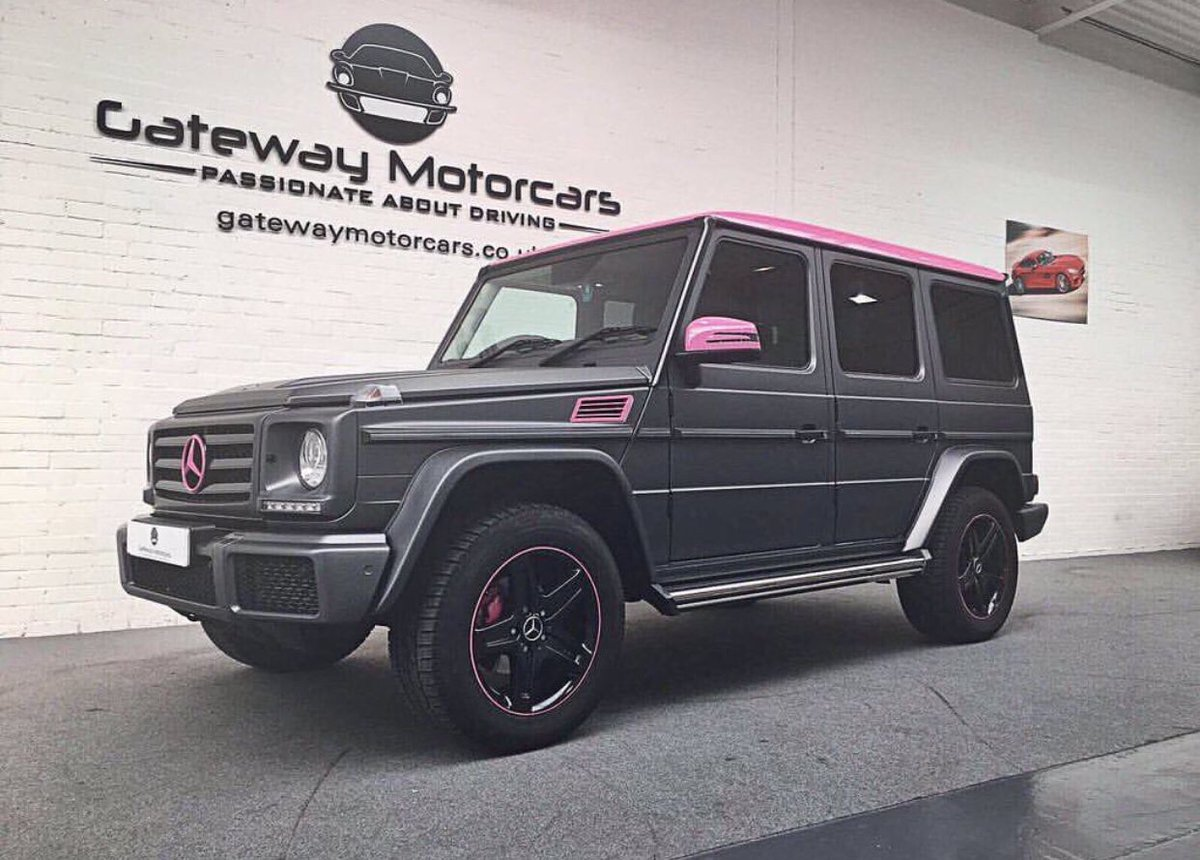 Vip Gateway On Twitter The Mercedes G Wagon With Pink Extras Something A Bit Different