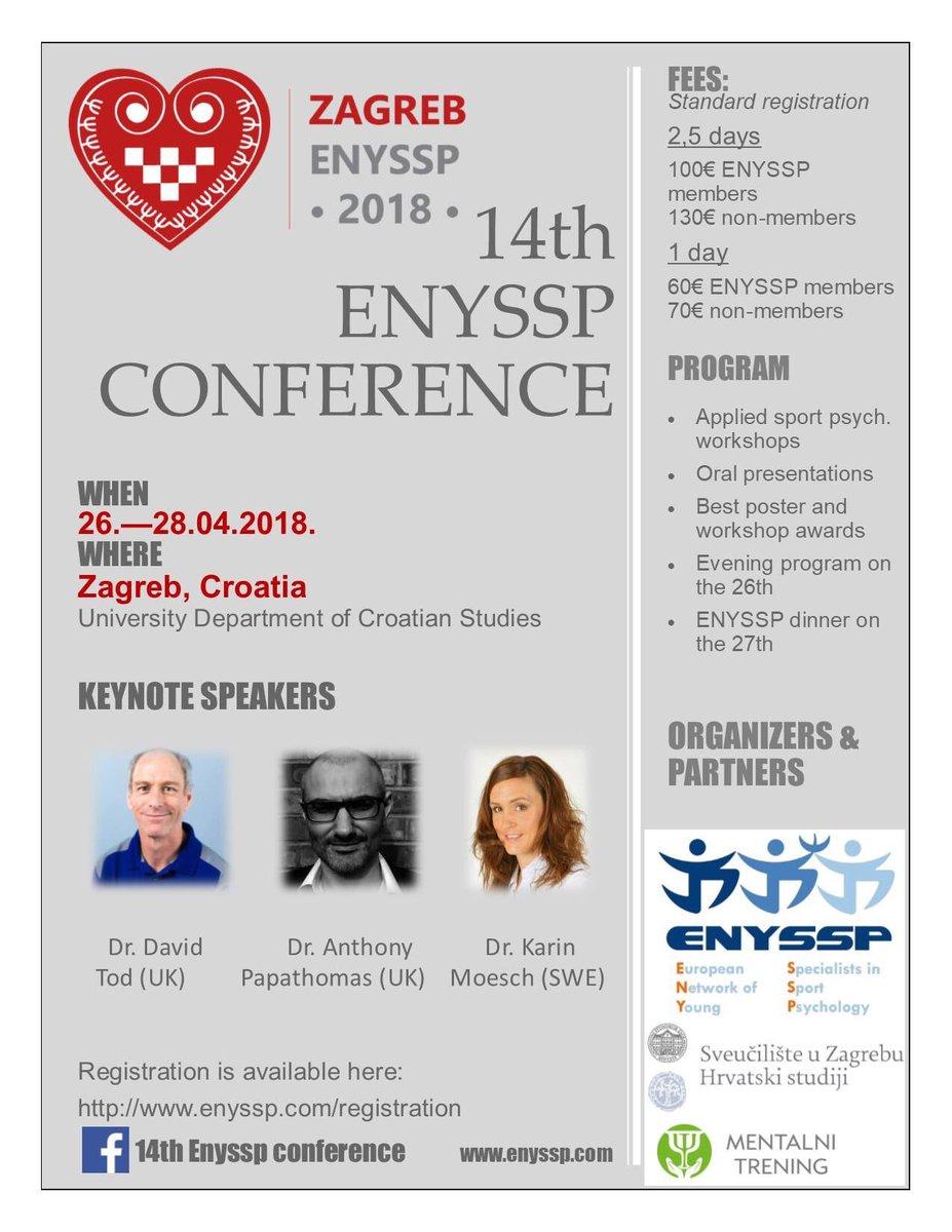 Risultati immagini per 14th ENYSSP CONFERENCE