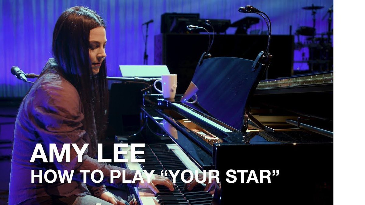 "RT @CBCMusic: Here's @AmyLeeEV with how to play ""Your Star"" by @evanescence. https://t.co/TQ41SPIYnz https://t.co/Eo3DOxEpNX"