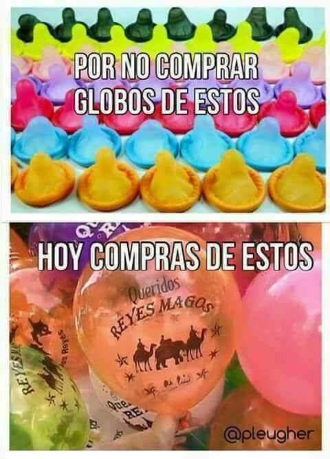 #DiaDeReyes usa condón si aún no estás l...