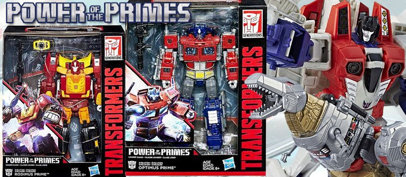 Toywiz hashtag on twitter power of the primes optimus prime leader rodimus prime leader action figures are shipping soon httpstoywiztransformerspower of the primes voltagebd Choice Image