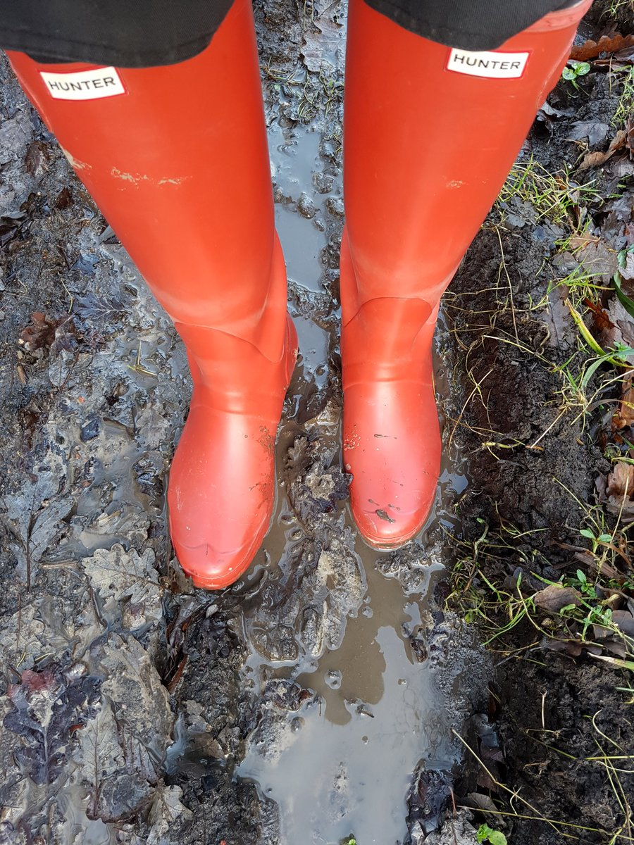 hunter #wellies #boots #muddy #puddles