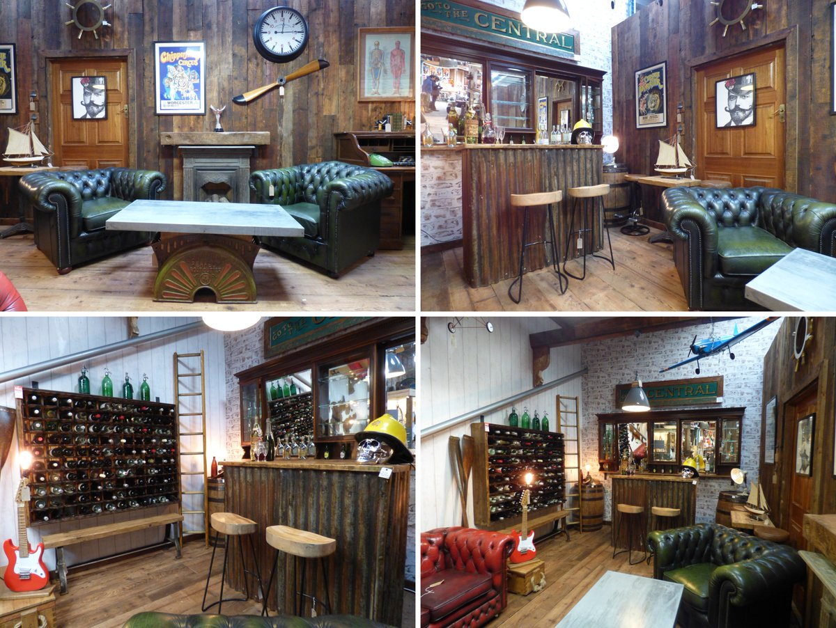 Cheshire Reclamation Salvage Antiques Vintage Retro Home Guitar Mancave Bar Chesterfield Wine Reclaimedwood Aeroplane Plane Modelplane