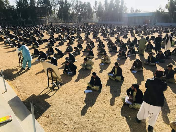 Despite the tragic war, the resilient and hope inspiring students sit their exams in Kandahar demonstrating their eagerness to education and a bright future. #Afghanistan #LetAfghansLearn #EndTheWar