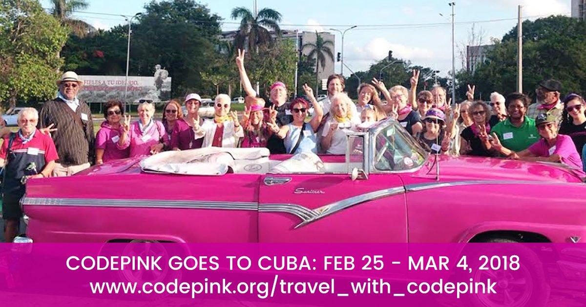 CodePink to Cuba