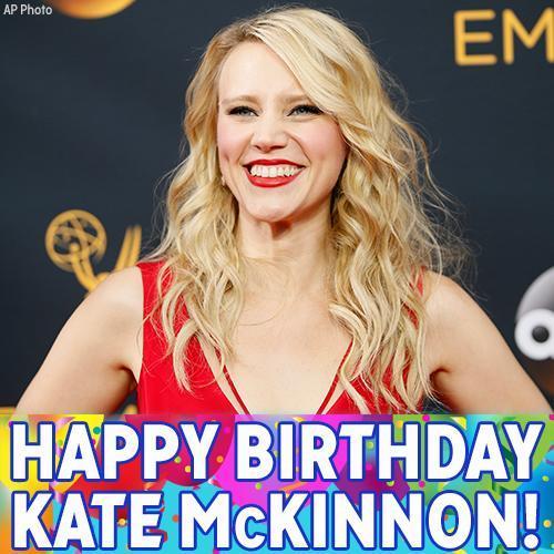 Happy Birthday to star Kate McKinnon!