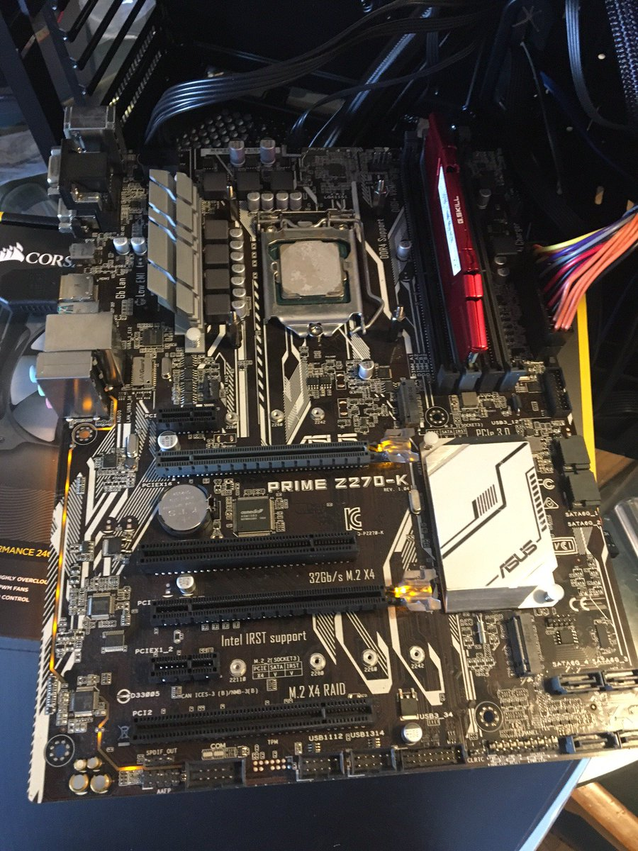 getting a new motherboard