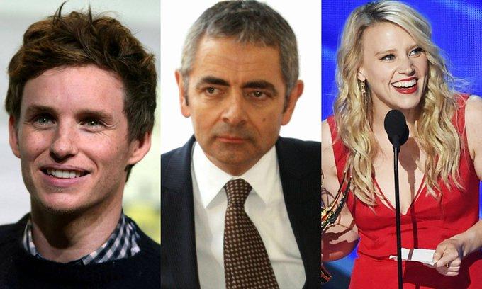 Happy birthday tooooo :  - Eddie Redmayne (36) - Mr. Bean/Rowan Atkinson (63) - Kate McKinnon (34)