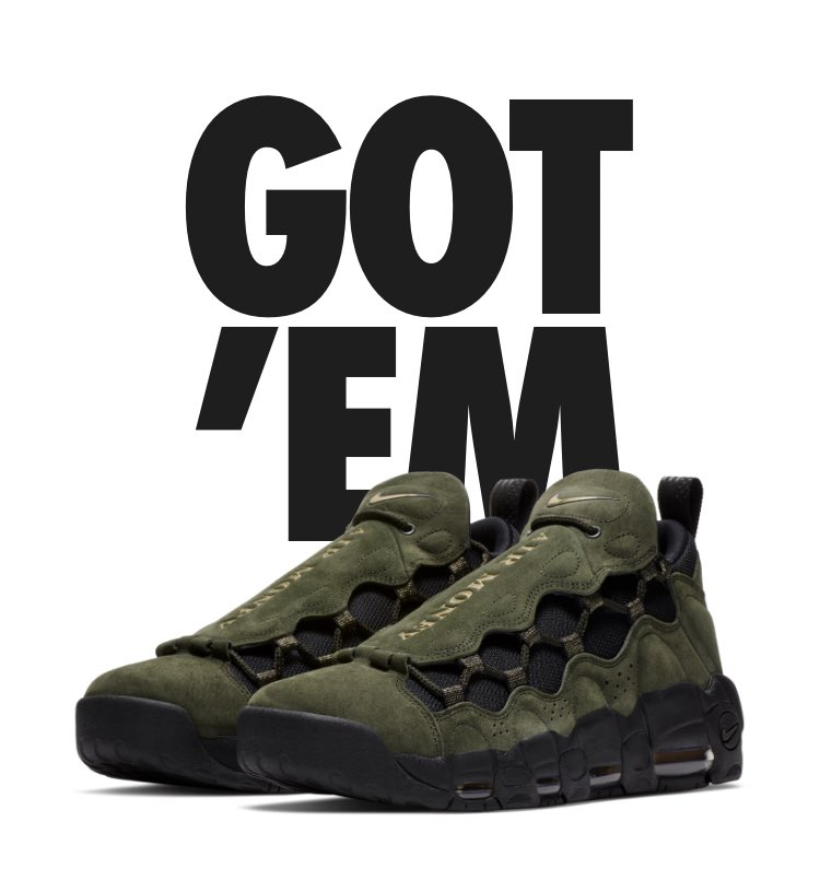 Nike Air More Money QS is yours. pic.twitter.com SehODWUzIa 3b22b3d80