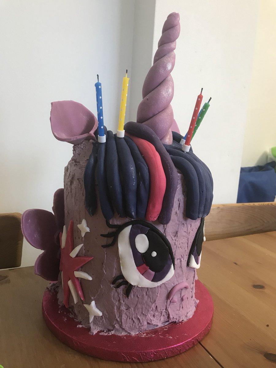 Liz Plane On Twitter Serenas Twilight Sparkle Cake With