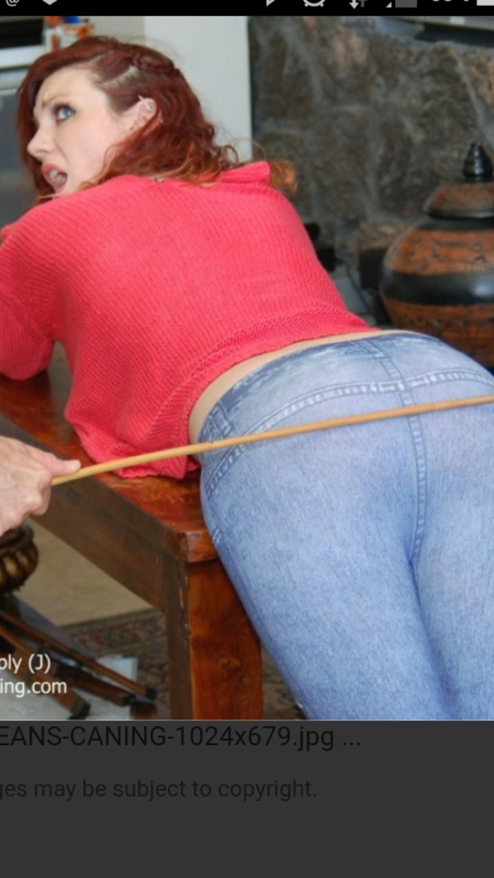 Brianbuttred2003 on Twitter: Some caning on jeans pics