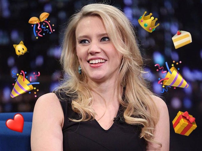 Happy birthday kate mckinnon i love you with all my heart