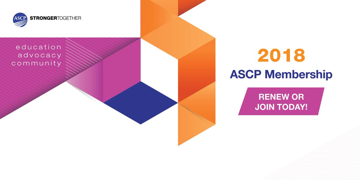 Ascp On Twitter Start The New Year With A Renewed Ascp Membership