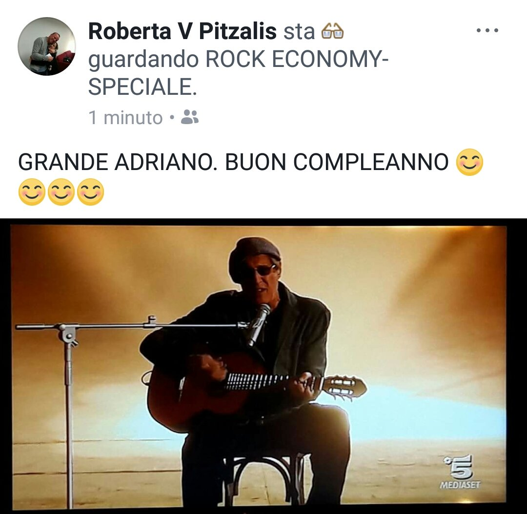 Buoncompleannoadriano Hashtag On Twitter