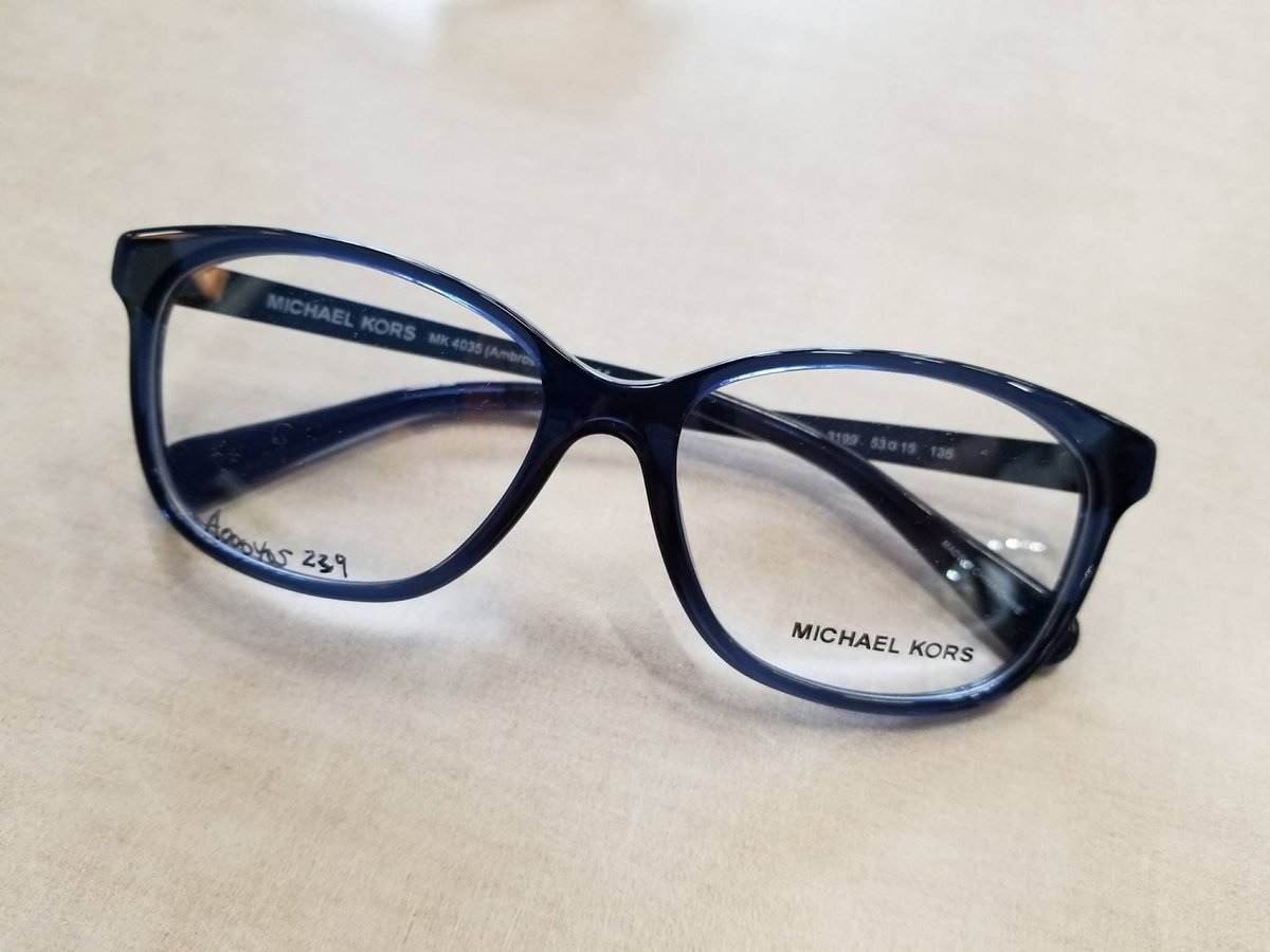 83ecbd0ec5b The subtle pop of colour is a great way to make your frames look a little  more unique!  michaelkors  kors  frames  luxury  designerframes   designerglasses ...