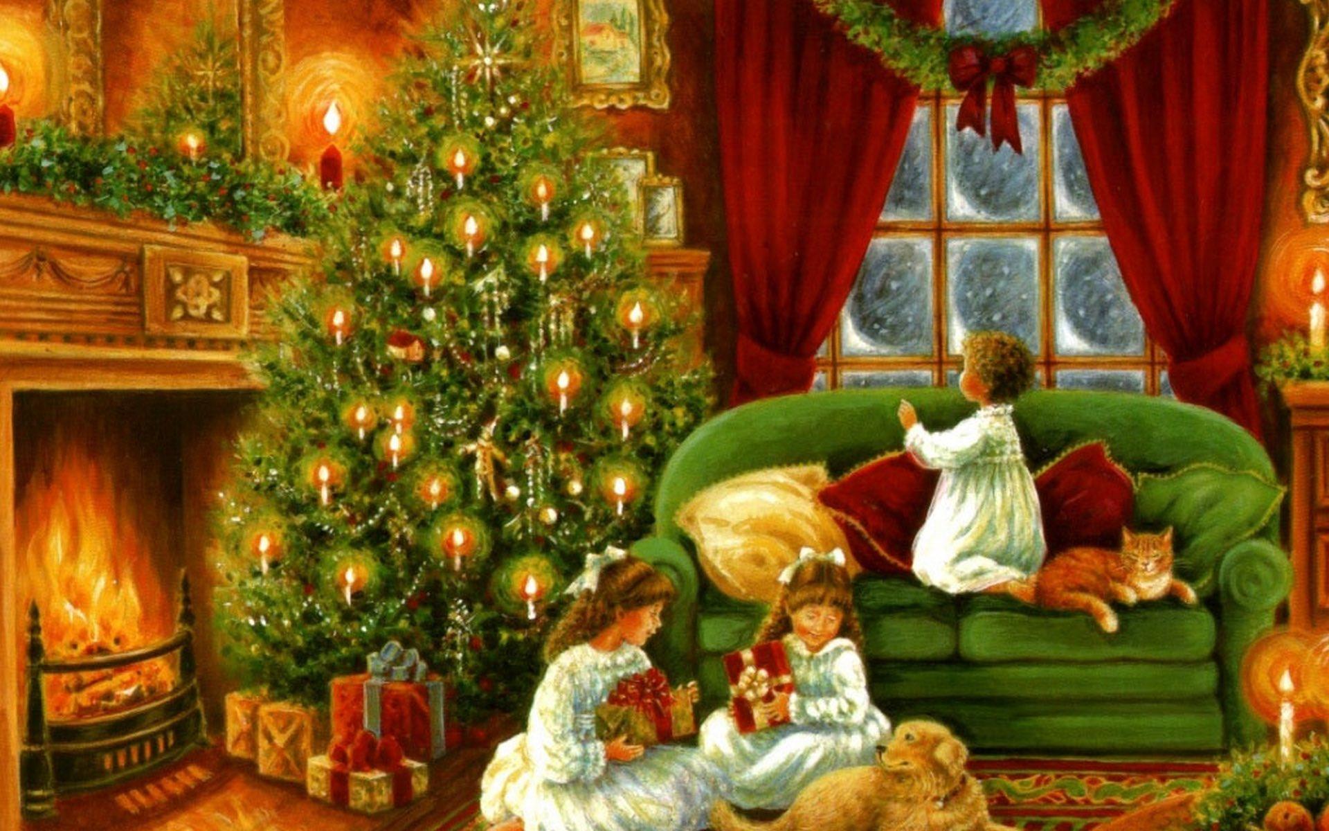 Рождество картинка для детей