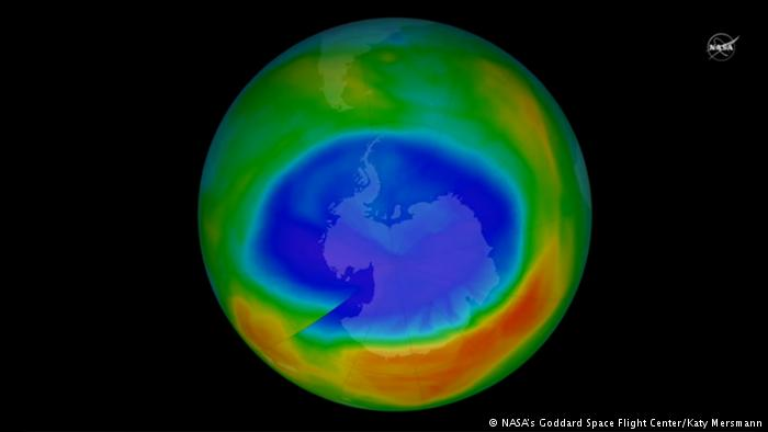 Camada de ozônio está se recuperando, indica estudo da Nasa https://t.co/Nae8QpsiUw