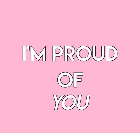 I'm so proud of you 🌻 https://t.co/HhNay...