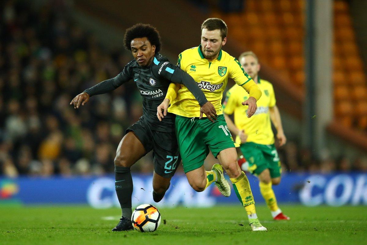 Chấm điểm trận Norwich City 0-0 Chelsea