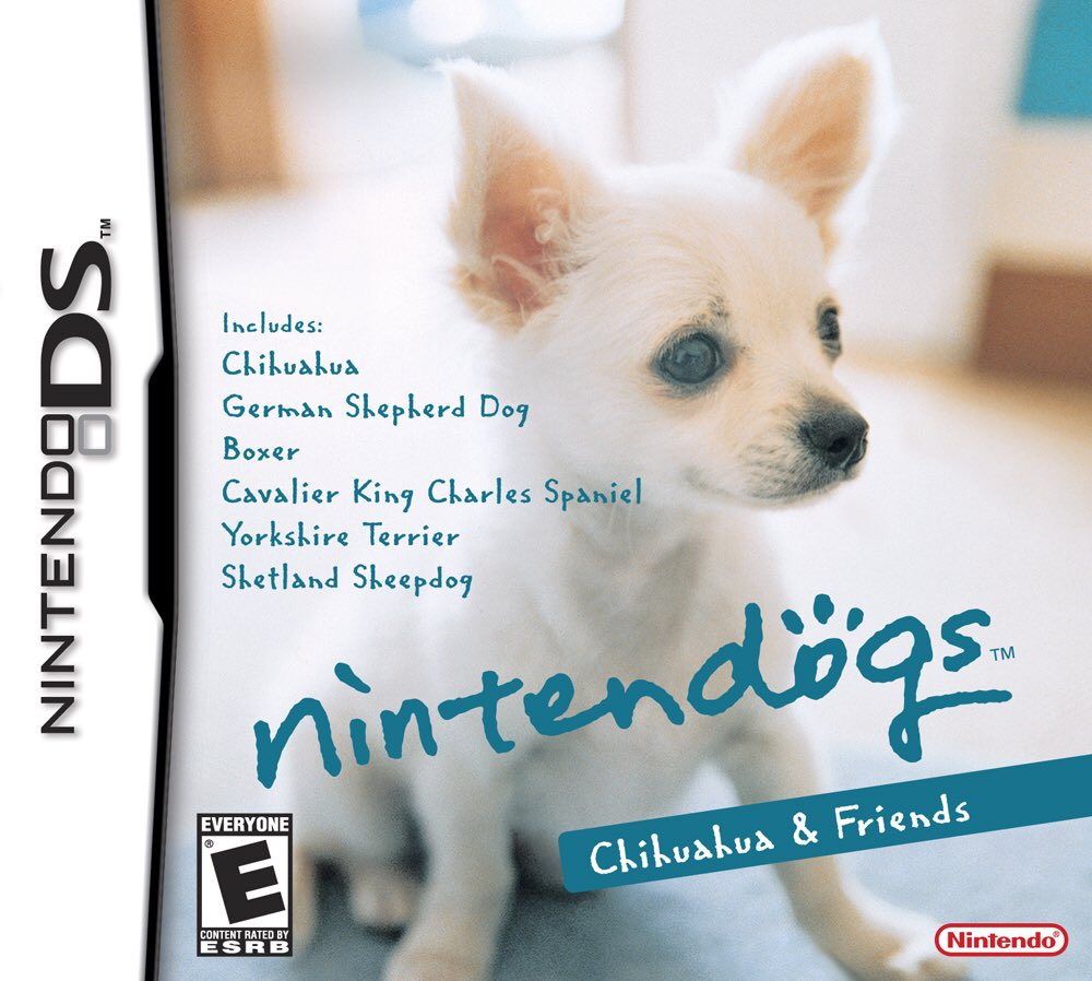 We need to get Nintendo Dogs as an app on the App Store!