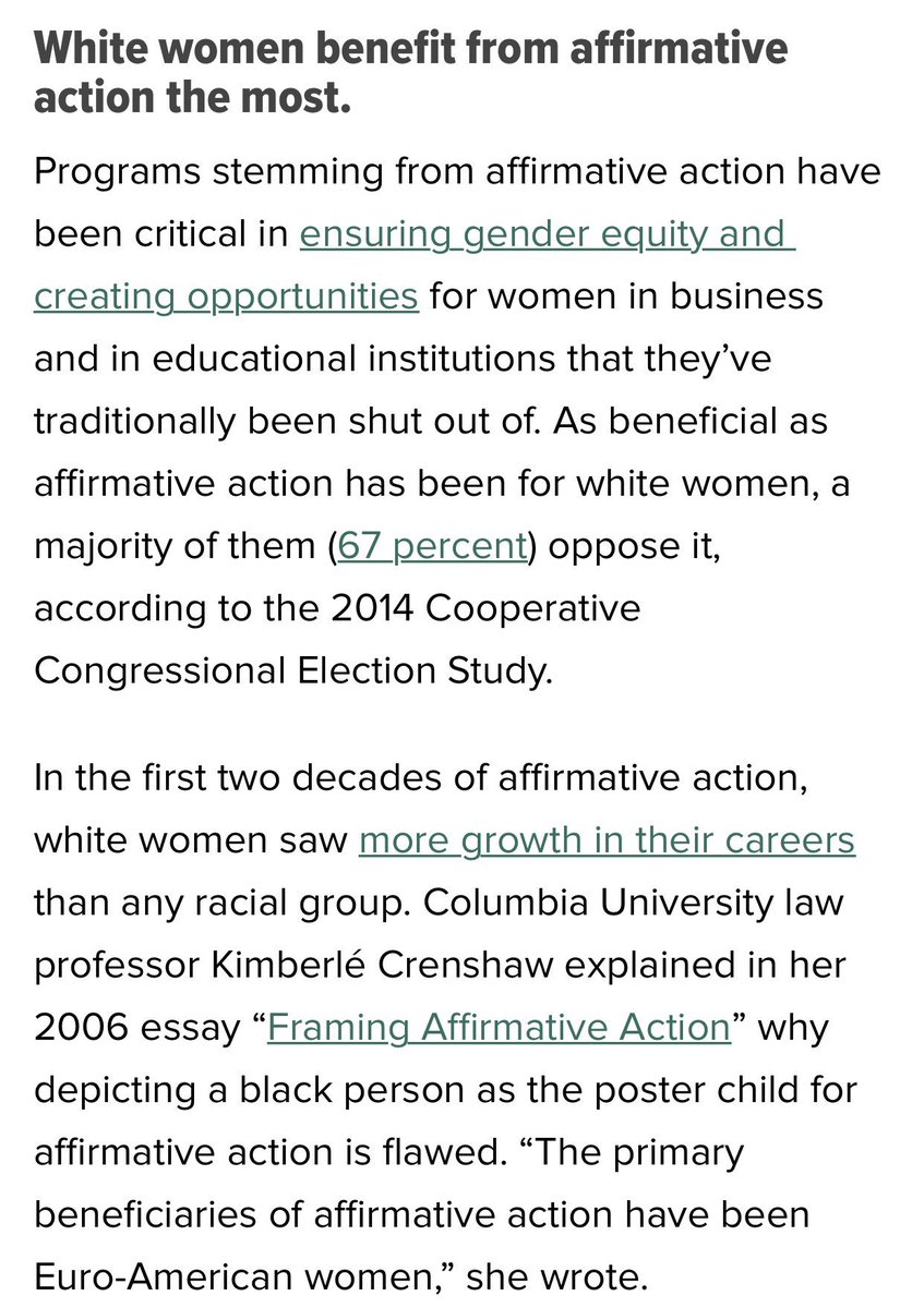 a essay on affirmative action benefits