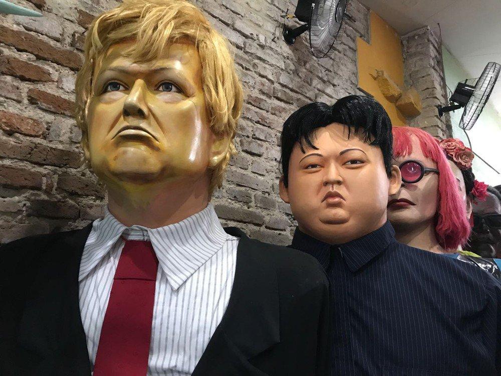 Carnaval de Olinda terá bonecos de Trump e Kim Jong Un https://t.co/V8zUnuq2Xm