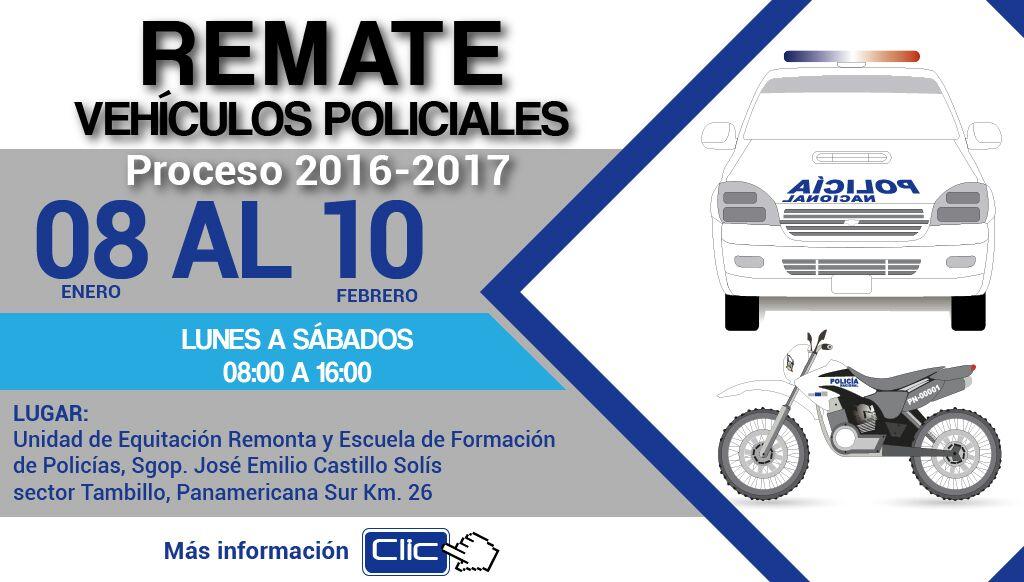 Polic a ecuador on twitter proceso de remate de for Twitter ministerio del interior ecuador