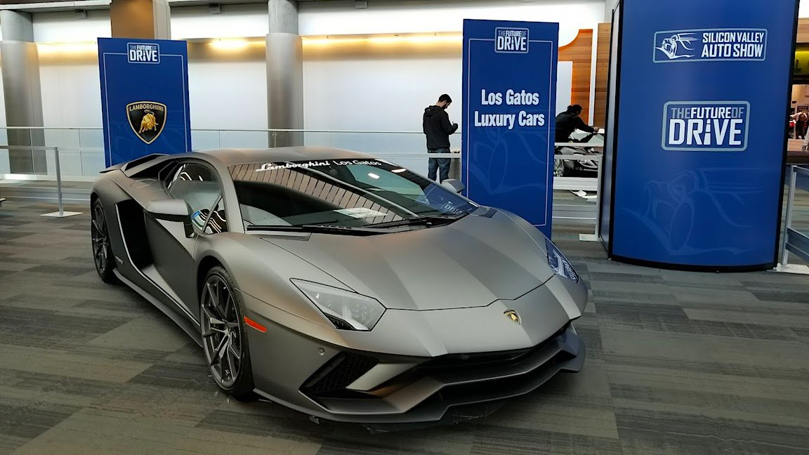 Silicon Valley Auto Show >> Randy Yagi On Twitter Lamborghini On Display At The 2018
