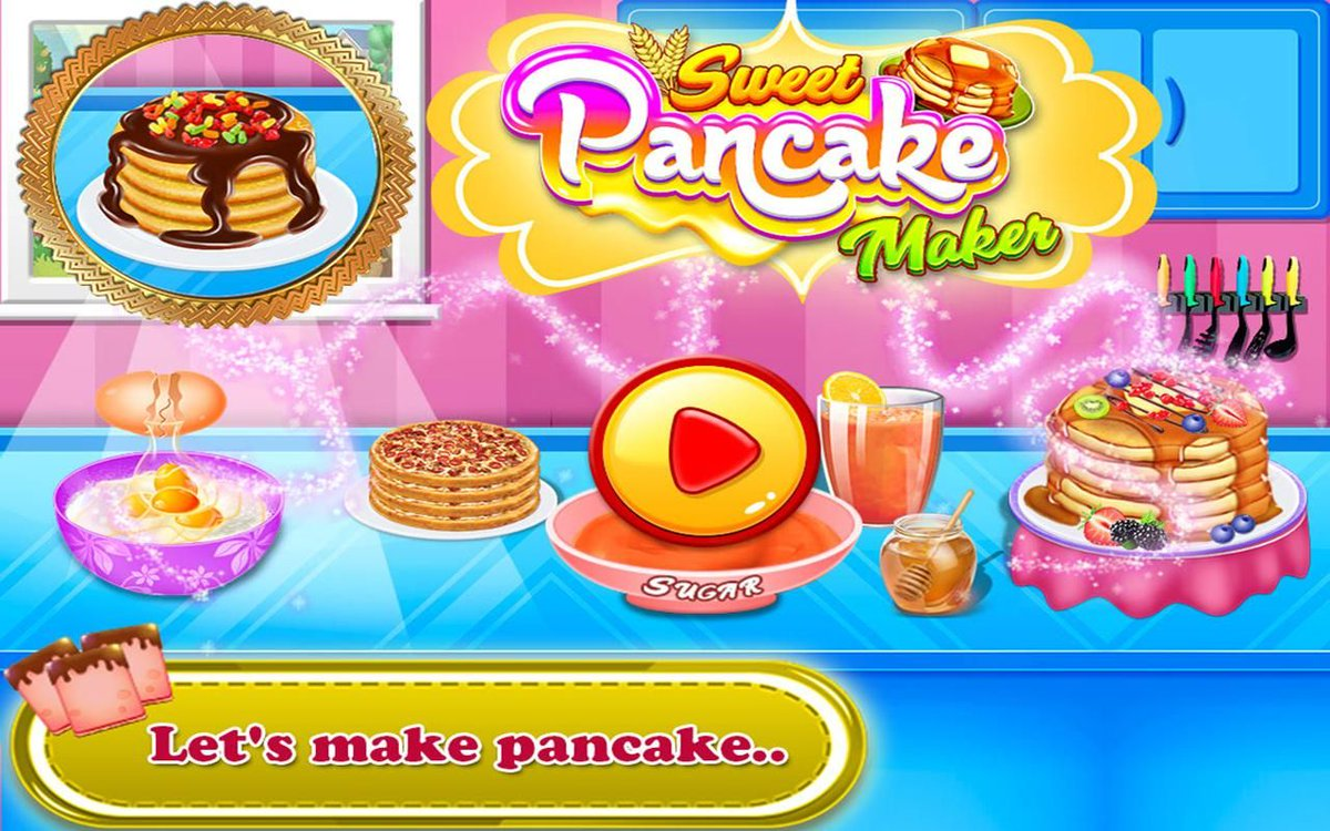 Siraj admani on twitter do you like to eat pancakes in breakfast do you like to cook it by yourself pancake food cooking game free gamedev gamedesign kids girls chef fever yummyyummy sweet delicious cool solutioingenieria Choice Image