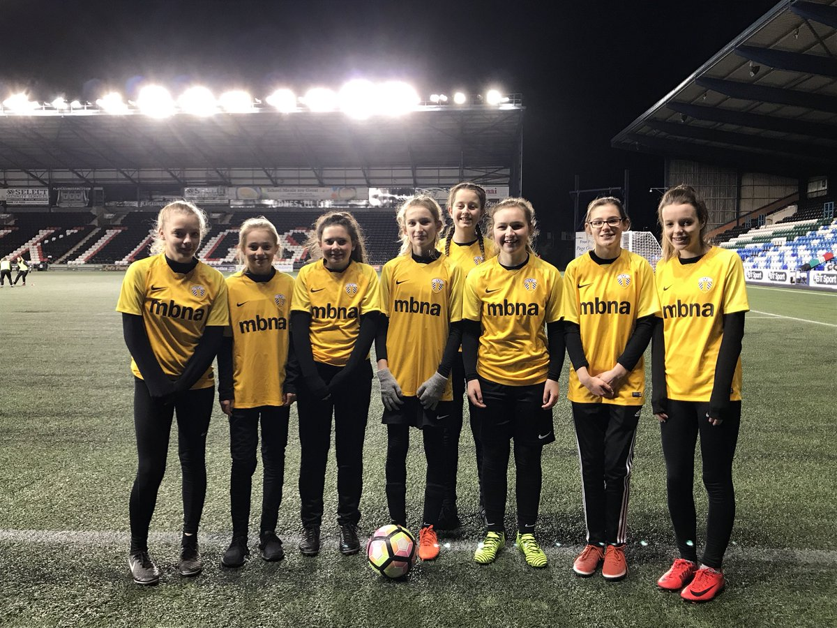 Very Cold But Enjoyable Evening Being Ball Girls At LFCLadies For Our U15s Tonight Fantastic Win Too WeCanPlaypictwitter Ym7egMVcJV Liverpool