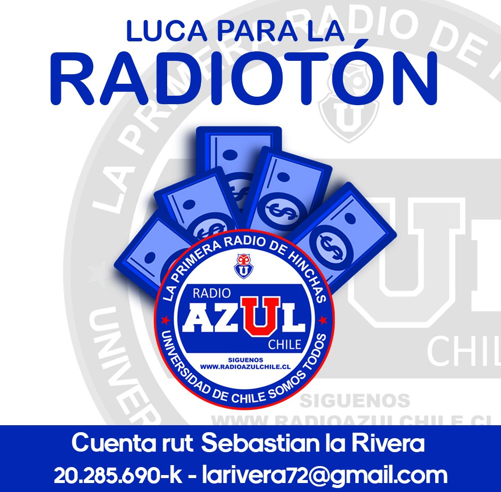 Radio AzulChile's photo on Azul