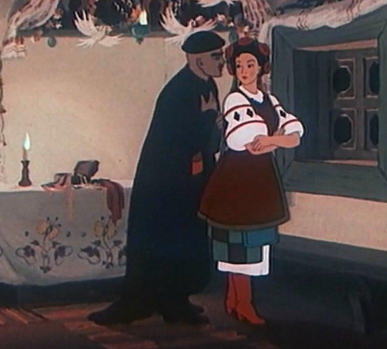 Картинки ночь перед рождеством гоголя мультфильм, фоны
