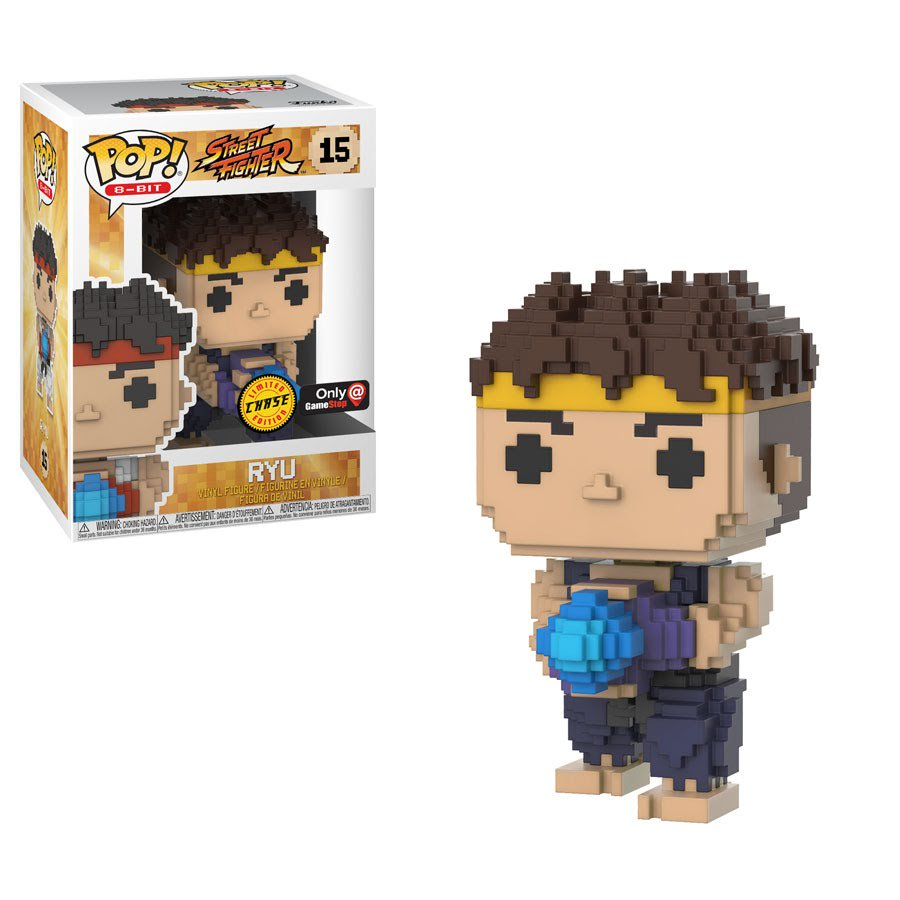 RT & follow @OriginalFunko for the chance to win a @GameStop exclusive CHASE 8-Bit Ryu Pop! https://t.co/slcdY8Wj3u
