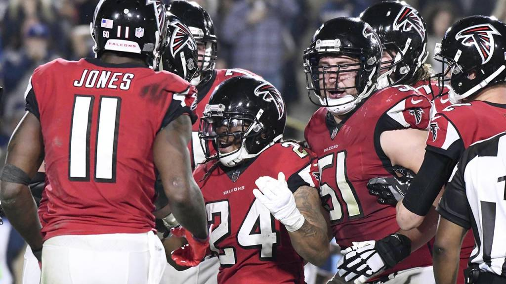 Falcons enfrentarán a Philadelphia Eagles