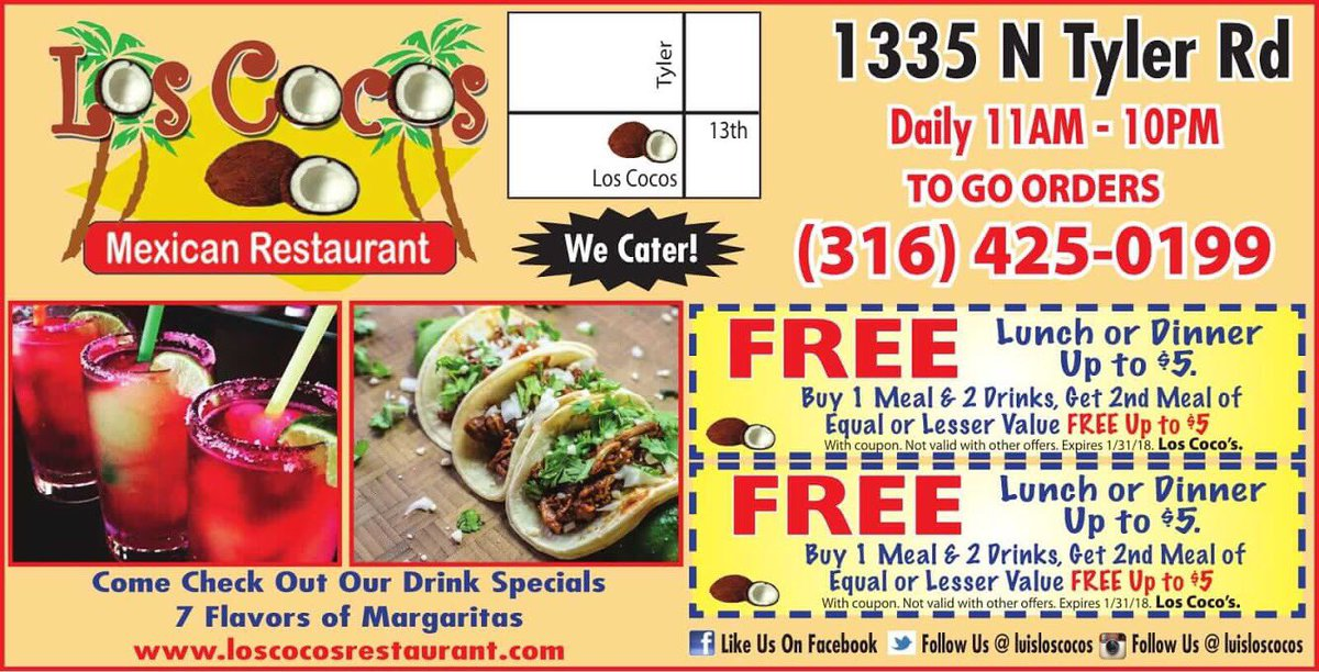 margaritas restaurant coupons 2019