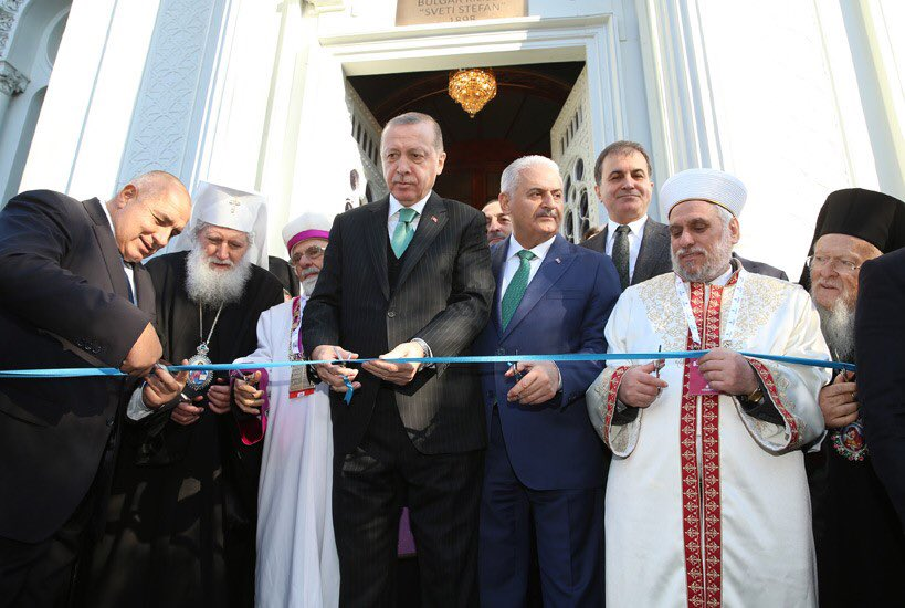 Cumhurbaşkanı Erdoğan, Restore Edilen Demir Kilise'nin Açılış Törenine Katıldı tccb.gov.tr/haberler/410/8…