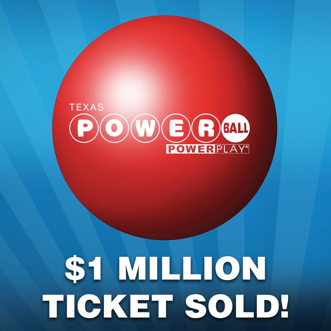 Texas Lottery On Twitter Two 1 Million Winning Tickets Were Sold