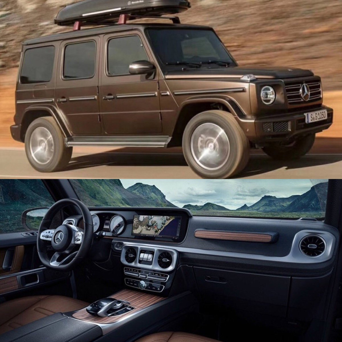 Carchayce On Twitter The All New 2018 Mercedes Benz G Wagon Has