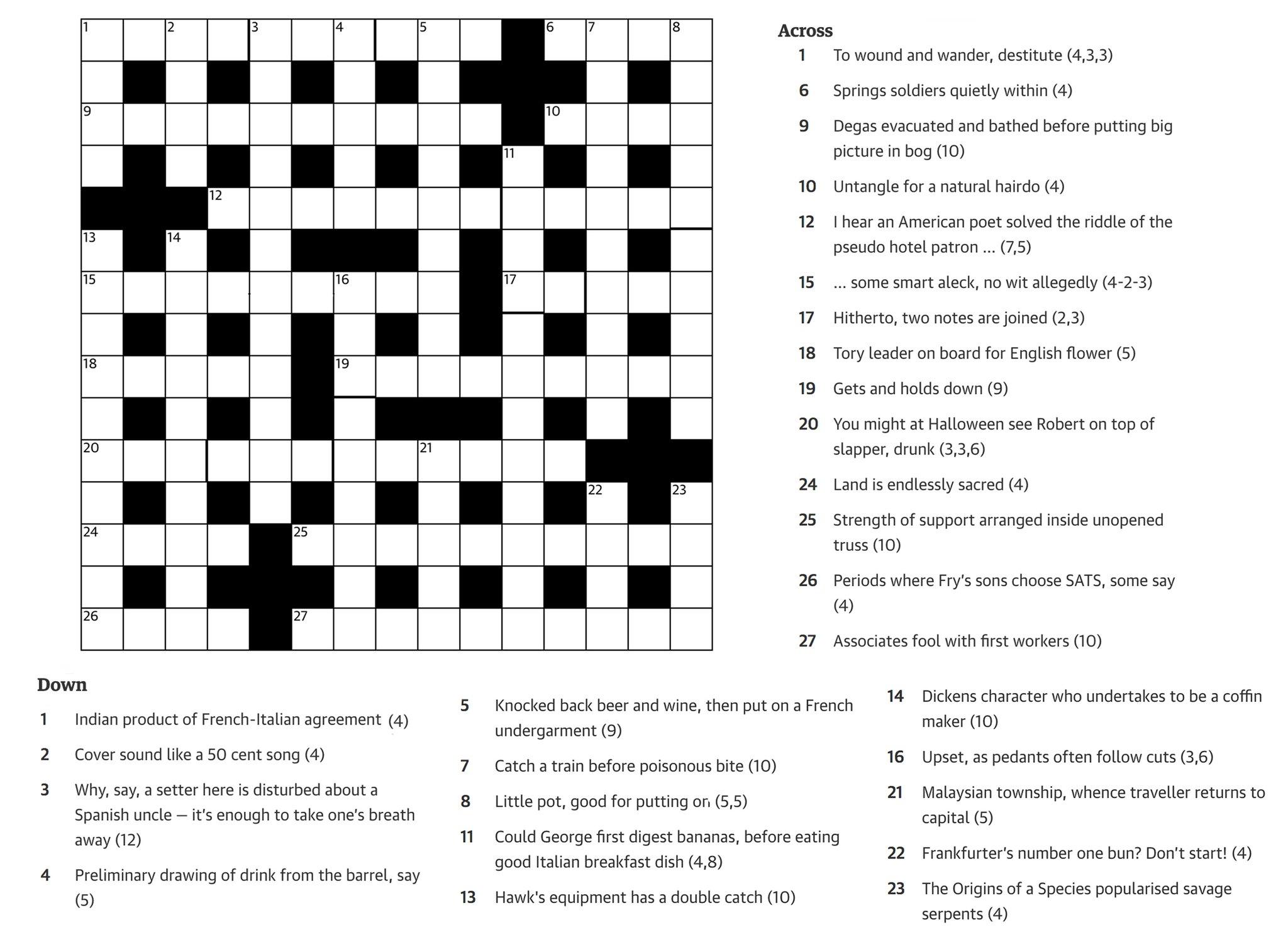 RT @SundayBrunchC4: Want to give @SP1nightonly's crossword a go? #SundayBrunch https://t.co/AenzPZNINh