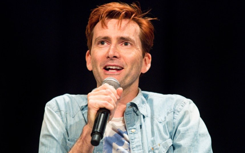 David Tennant at Wizard World New Orleans fan convention on Saturday 6th January 2018
