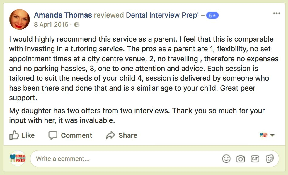 Dental interview pr dentintprep twitter do you have an upcoming interview prepare for the big day book yourself a mock interview based on the university youve applied to message for details solutioingenieria