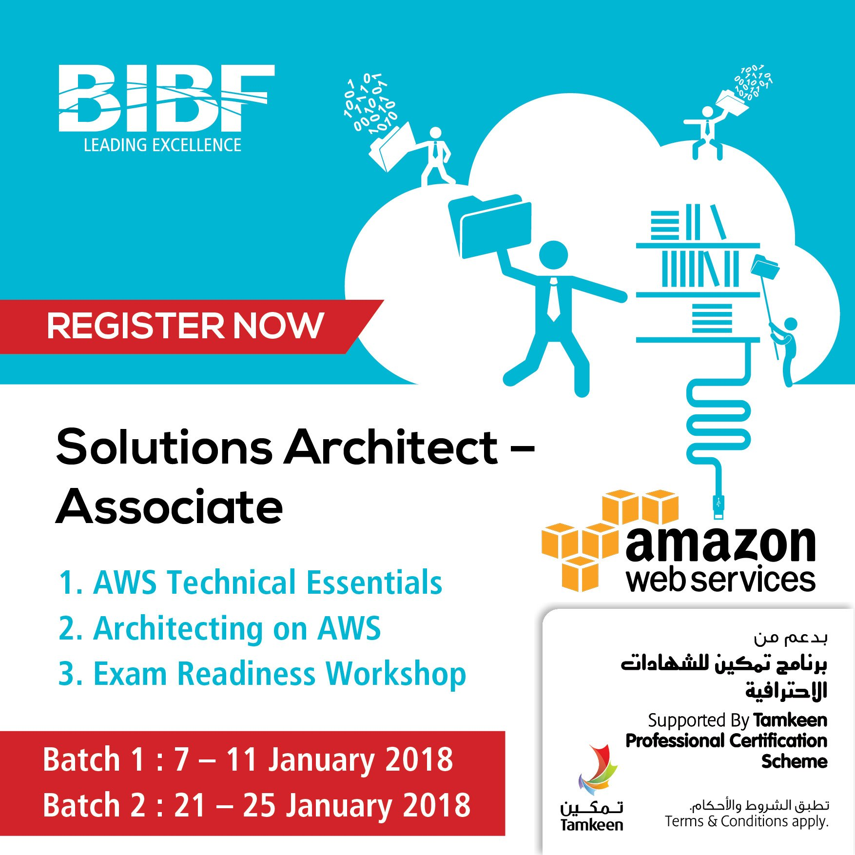 The Bibf On Twitter Become A Certified Solution Architect Aws